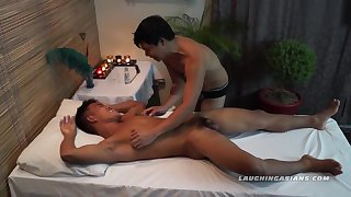 Asian Twink Jacob Massaged and Tickled