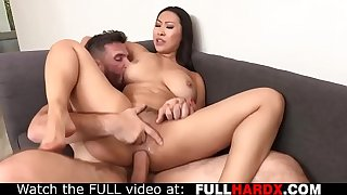 Gorgeous Asian busty getting ass fucked & creampie (Sharon Lee , Manuel Ferrara)