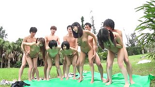 Nothing can compare to a lustful Asian orgy full of hotties