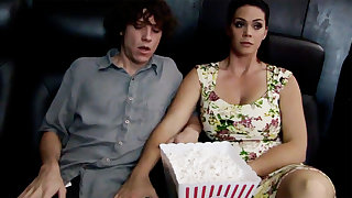 Horny milf pretend to shy stepson's dick helter-skelter cinema