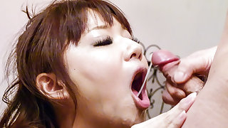 Yurika Miyachi poses with jizz - More at javhd.net
