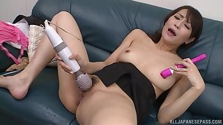A pleasant solo Japanese simian toys for the hot wife