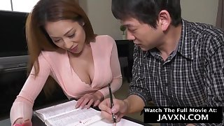 Unconditioned Japanese Mommy And Stepson Studyi - HD video